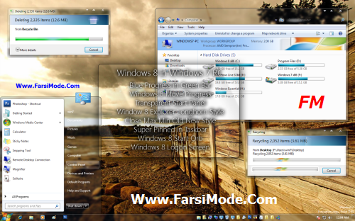 100 Themes For Windows7 %5BWww FarsiMode%20(7) دانلود مجموعه 100 تم ویندوز 7 Themes For Windows